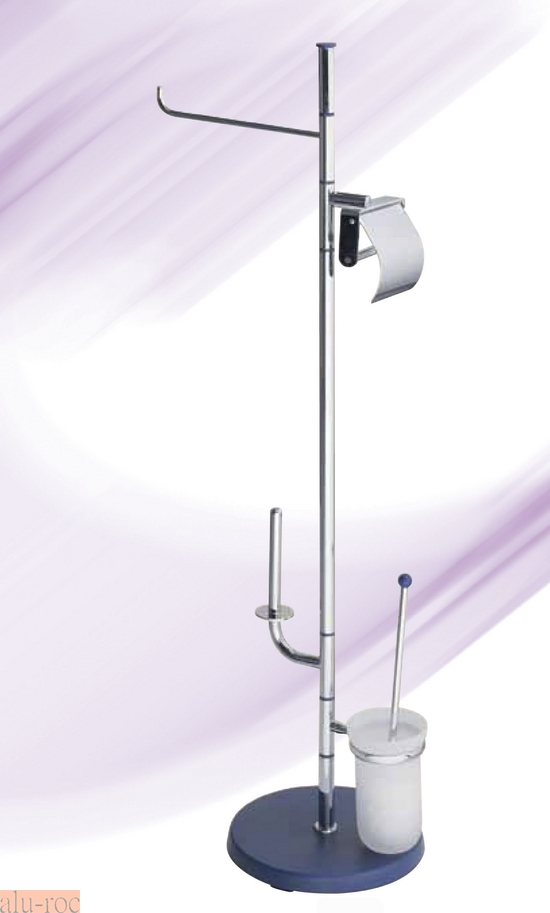 Escobillero portarrollo toallero h4008 - Toalleros de pie para bano ...