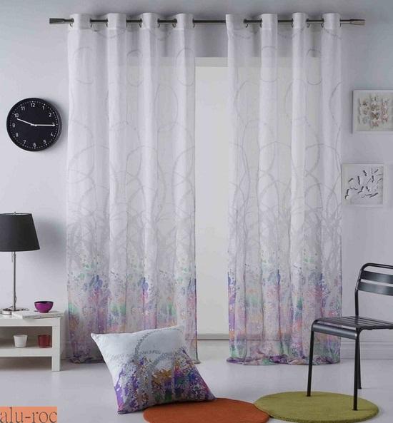 Cortinas splatter - Visillos para dormitorios ...